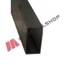 Μπόι 80x40x1.40mm Μαύρο 1m