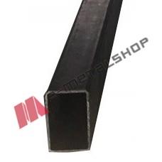 Μπόι 40x40x1.80mm Μαύρο 1m