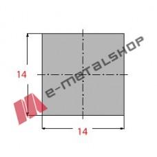 Μασίφ Τετράγωνο Γαλβανιζέ 14x14 6m (Φ14)