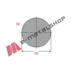 Μασίφ Στρογγυλό Γαλβανιζέ 10x10 6m (Φ10)