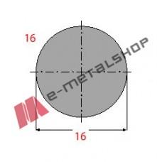 Μασίφ Στρογγυλό Γαλβανιζέ 16x16 6m (Φ16)