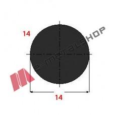 Μασίφ Στρογγυλό Μαύρο 14x14 6m (Φ14)