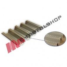 Σύμμικτη λαμαρίνα 1mm πάχος ελάσματος ST320 (τιμή τρέχοντος μέτρου)