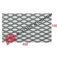 Λαμαρίνα αλουμίνιο κωδ.(A) Μέταλ Ντεπλουαγέ 1000x4000x0.50mm Ρόμβος (τιμή/m2)