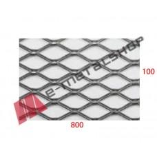 Λαμαρίνα αλουμίνιο κωδ.(B) Μέταλ Ντεπλουαγέ 1000x8000x1.00mm Εξάγωνο (τιμή/m2)