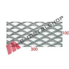 Λαμαρίνα Χοντρό αλουμίνιο κωδ.(B) Μέταλ Ντεπλουαγέ 1000x3000x0.80mm Ρόμβος (τιμή/m2)