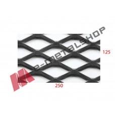 Λαμαρίνα Μαύρη κωδ.(P40Π) Μέταλ Ντεπλουαγέ 1250x2500x3mm Ρόμβος (τιμή/m2)