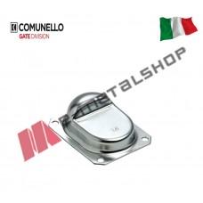 Γαλβανισμένο στόπερ πλευρικής τοποθέτησης κατά το άνοιγμα της αυλόπορτας COM-01-166G Comunello
