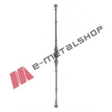 Παραδοσιακό Μοτίφ κάγκελο αλουμινίου (65-48 Μινωικό Α) Aluminco 65cm