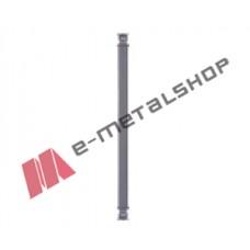 Παραδοσιακό Μοτίφ κάγκελο αλουμινίου (85-38 Γραμμικό 104) Aluminco 85cm