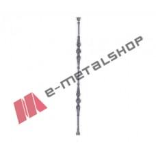 Παραδοσιακό Μοτίφ κάγκελο αλουμινίου (85-47 Μινωικό Β) Aluminco 85cm