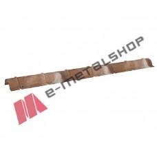 Κορφιάς για πάνελ οροφής κεραμίδι (τιμή μέτρου) LEB