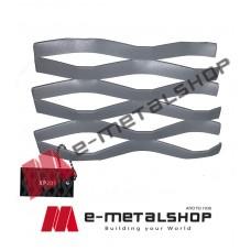Λαμαρίνα διακοσμητική Ντεπλουαγέ (X-PAND) XP201 Aluminco 2mm(τιμή ανά τετραγωνικό)