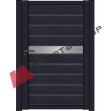 Μονόφυλλη ανοιγόμενη αυλόπορτα Elegance Stylegates E494 100x100