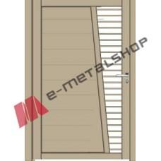 Μονόφυλλη ανοιγόμενη αυλόπορτα Classic Stylegates C375 100x100