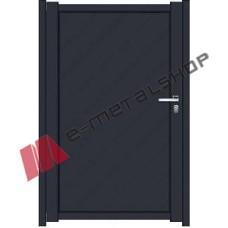 Μονόφυλλη ανοιγόμενη αυλόπορτα Classic Stylegates C675 100x100
