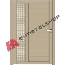 Μονόφυλλη ανοιγόμενη αυλόπορτα Classic Stylegates C101 100x100