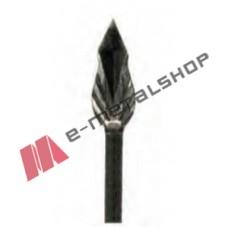Λόγχη-φλόγα ρόμβος φυλλαράκι σιδήρου κωδ.(4/93) για περίφραξη  14x14 τετράγωνο