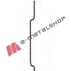Διακοσμητικό μοτίφ σιδήρου κωδ.(18/71) 12x12 για κάγκελα/περίφραξη