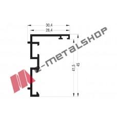 Κάσα M9325 σειράς Μ9400 Alumil 6m