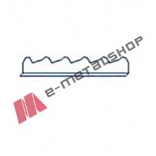 Χτένι μετώπης πάνελ οροφής κεραμιδιού (τιμή μέτρου) LEB