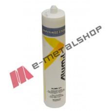 Ακρυλικός στόκος Alumil λευκός
