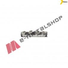 Κεντρικό στεγανωτικό για τα προφίλ (S368,S389,S352,S398,S388,S326) της σειράς S350 14,2mm αλουμίνιο Alumil 6601414600