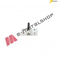Στόπερ συρόμενου για προφίλ (S389,S398,S388,S326) της σειράς S35024mm Alumil 6602440100
