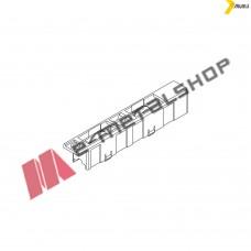 Ράουλο αλουμίνιου διπλό με ντίζα 22mm της σειράς M9200 Alumil 6000220502