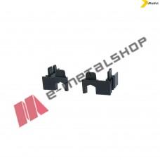 Τάπα γάντζου μαύρη για το προφίλ Μ9203 της σειράς M9200 Alumil 3110920303