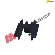 Τάπα για προφίλ Μ9004 της σειράς M9200 Alumil 3110001503 μαύρη