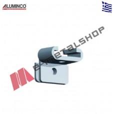 Σύνδεσμος κουπαστής κολώνας άβαφο Aluminco 4201
