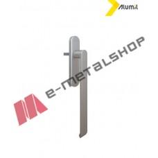 Λαβή μεγάλη 252mm ανασυρόμενου ,με καρε 10x10mm, logo Alumil ανοδίωση F1 3801814733