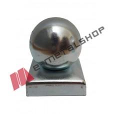 Μπάλα (καπάκι διακοσμητικό κοιλοδοκού) 80x80 γαλβανιζέ