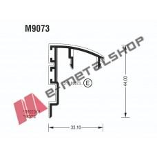Γάντζος M9073 σειράς Μ9050 Comfort Alumil
