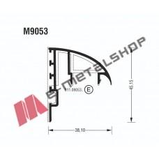 Γάντζος M9053 σειράς Μ9050 Comfort Alumil