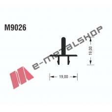 Μπινί Μ9026 σειράς Μ9050 Comfort Alumil