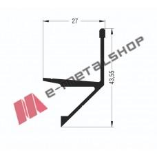 Νεροσταλακτης M9012 σειράς Μ9050 Comfort Alumil