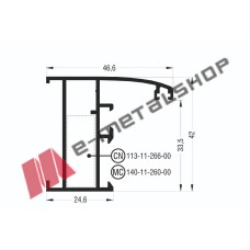 Κάσα M947 σειράς Μ940 Comfort Alumil
