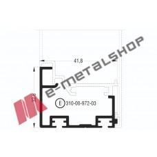 Πρόσθετο M972 σειράς Μ940 Comfort Alumil 6m