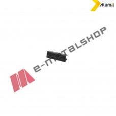 """Εξάρτημα """"U"""" για τζάμι Μ8200 10+10mm Alumil (2 ανά μέτρο)"""