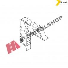 Γωνία σύνδεσης γωνιάστρας 23x12mm Alumil 1132312100