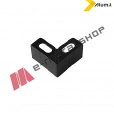 Γωνία επιπεδότητας πλαστική 17,3X1,5mm Alumil 1802501800