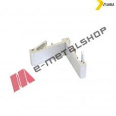 Γωνία σύνδεσης πρέσσας 10,9x41,8mm Alumil 1251141200