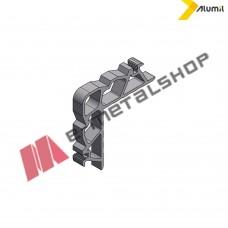 Γωνία σύνδεσης γωνιάστρας 22,4x10,2mm της σειράς S67 Alumil 1132310200