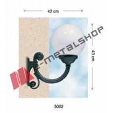 Διακοσμητικό επιτοίχιο φανάρι αλουμινίου Aluminco 5002