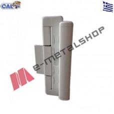 Κλειδαριά DOUBLEX-OVAL07 για συρόμενα κουφώματα για πόρτες και παράθυρα (λευκή)