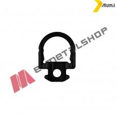 Ελαστικό (λάστιχο) φτερού φύλλου M9660 Alumil 2200960003 (τιμή μέτρου)