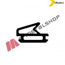 Ελαστικό (λάστιχο) φιλητού κάσας suite-linear EPDM μαύρο Alumil 7670030203 (τιμή μέτρου) M14600