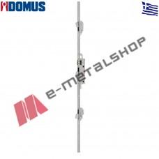 Κλειδαριά Domus 3 σημείων μπίλιας Μαχαιρωτή 35άρα με τα αντικρίσματα Domus 95435